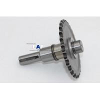 PTO Shaft for Honda GX140/GX160/GX200 engine 1/2 reduction Clutch Assy(diameter 20mm Key 5mm)Parts No.23711-822-610