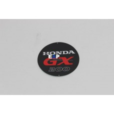 Honda GX200 Recoil Starter Label EMBLEM(GX200)(Genuine Parts) 87521-ZL0-030